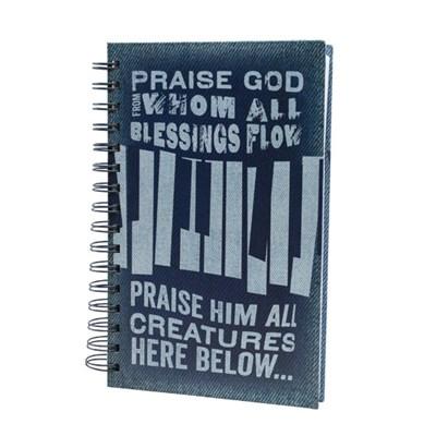 Bloco de notas Praise God