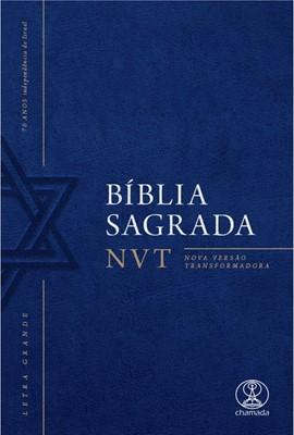 Bíblia NVT com letras grandes