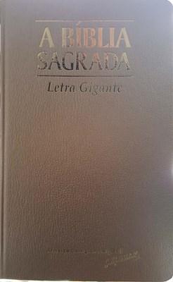 Bíblia Sagrada com letra gigante