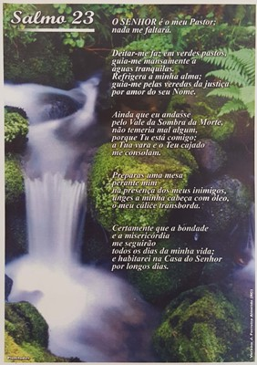 Poster salmo 23