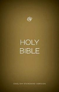 ESV outreach bible gold