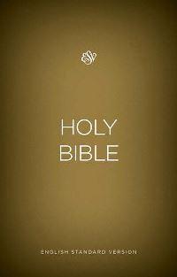 ESV outreach bible gold