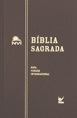 Bíblia sagada NVI capa flexível preta