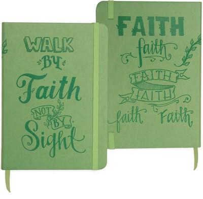 Bloco de notas Walk by faith not by sight