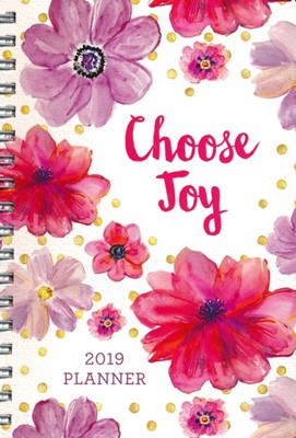Planner 2019 Choose Joy
