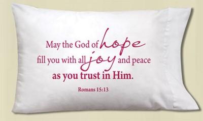 Fronha de almofada Romans 15:13