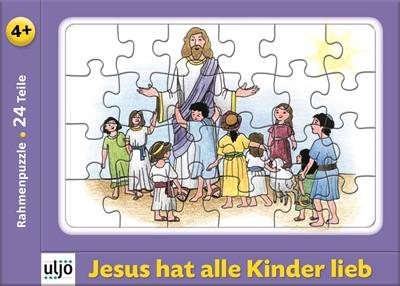 Puzzle Jesus com as crianças