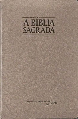 Bíblia Sagrada ACF edição fina com letra grande