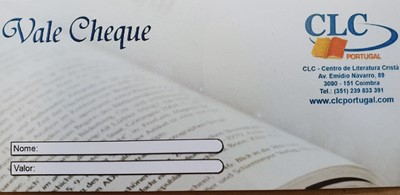 Vale Cheque CLC