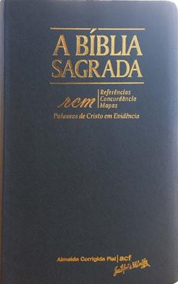 Bíblia Sagrada RCM com referências, concordância e mapas