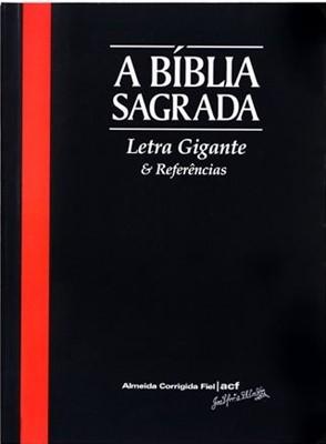 Bíblia Sagrada ACF com letra gigante e referências