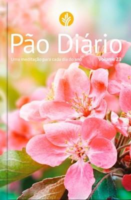 Pão diário, capa feminina, volume 23