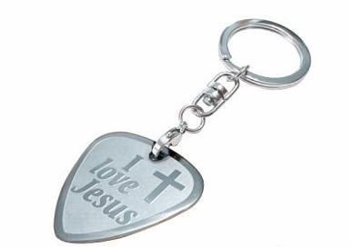 Porta-chaves I Love Jesus