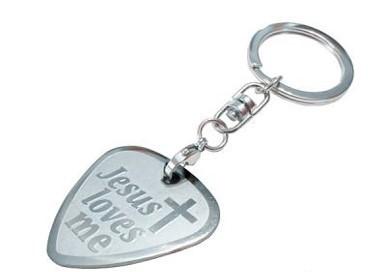 Porta-chaves Jesus Loves Me