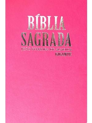 Bíblia Sagrada com letra gigante, mapas coloridos e palavras de jesus em vermelho