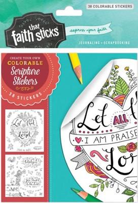 Stickers para colorir
