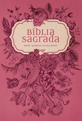 Bíblia NAA Pink Flowers