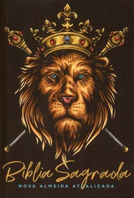 Bíblia Sagrada NAA Leão Dourado