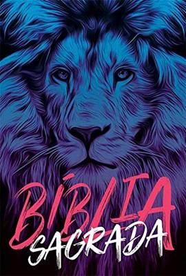 Bíblia Sagrada NAA Leão Azul