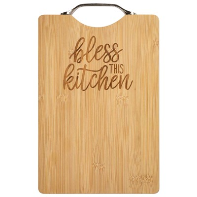 Tábua de corte Bless this kitchen