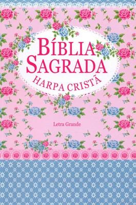 Bíblia Sagrada com letra grande e Harpa Cristã