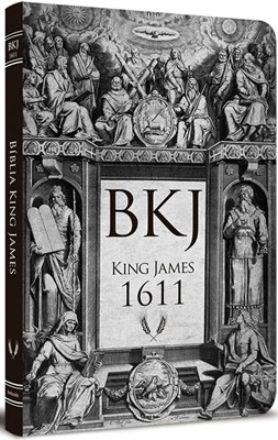 Bíblia King James 1611 Ultra Fina Lettering ­Bible Retro