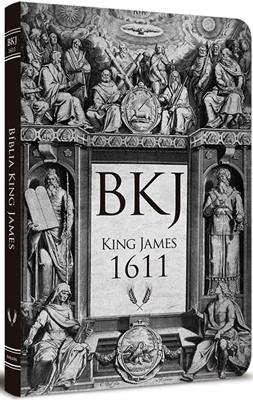 Bíblia King James 1611 Ultra Fina Lettering Bible Retro