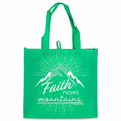 Saco Eco Faith moves mountains