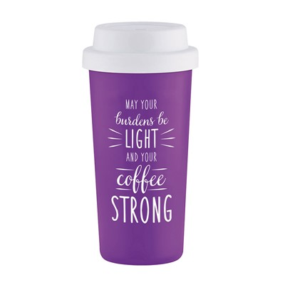 Caneca May your burdens be light and your coffee strong