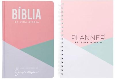 Bíblia da vida diária + Planner da vida diária