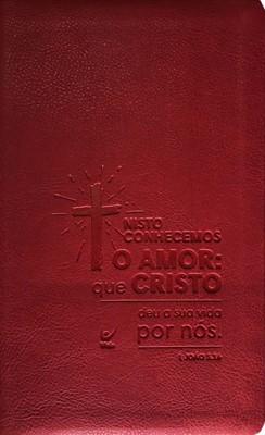 Bíblia AEC 1 João 3:16