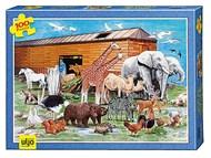 Arca de Noé - puzzle 100 peças (+6)