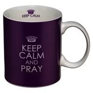 Caneca Keep calm and pray