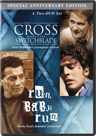 The Cross and the Switchblade + Run, baby run - 2 DVD set