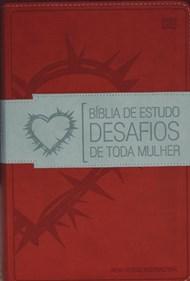Bíblia de estudo desafios de toda a mulher