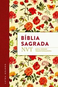 Bíblia NVT letra grande com capa flexível