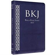 Bíblia King James Fiel 1611 capa azul