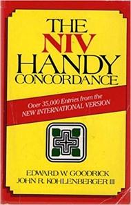 The NIV handy concordance