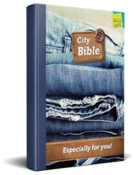 "New Testament Bible ""Jeans"""