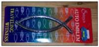 Peixe - Emblema P/carro - Large