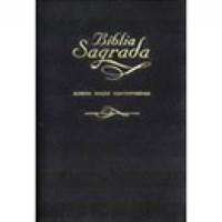 Bíblia AEC ultrafina com fecho e índice digital