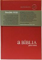 Bíblia para Todos - capa dura vermelha