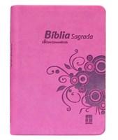 Bíblia DN 44c rosa