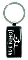 Porta-chaves metal - John 3:16