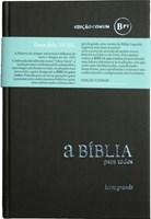 Bíblia para Todos com letra grande - BPTc63LG cinza