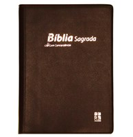 Bíblia DN 42C com capa bordô