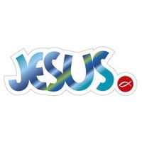 Autocolante - Jesus (13 x 5cm)