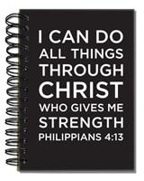 Bloco de notas - Philippians 4:13