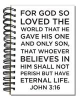 Bloco de notas - John 3:16
