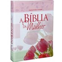 Bíblia da Mulher, capa em couro bonded impressa